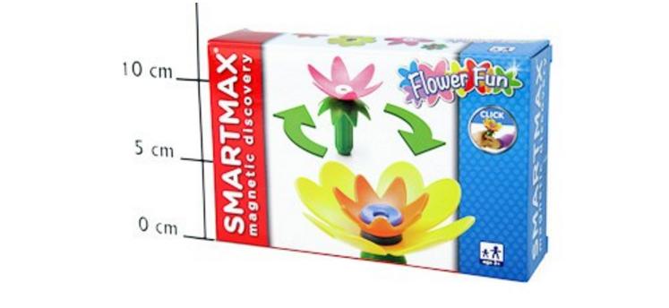 Магнитный конструктор SmartMax/ Bondibon Забавные Цветы