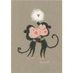 Открытка с конвертом Любовь