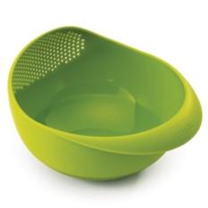 Большая зеленая миска-дуршлаг 2в1 Prep&Serve