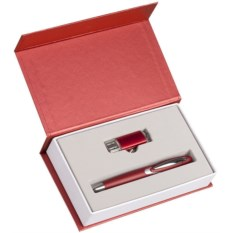 Подарочный набор Блеск из ручки и флешки