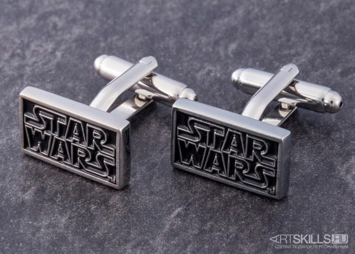 Запонки Star Wars