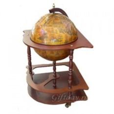 Напольный глобус-бар, диаметр 42 см