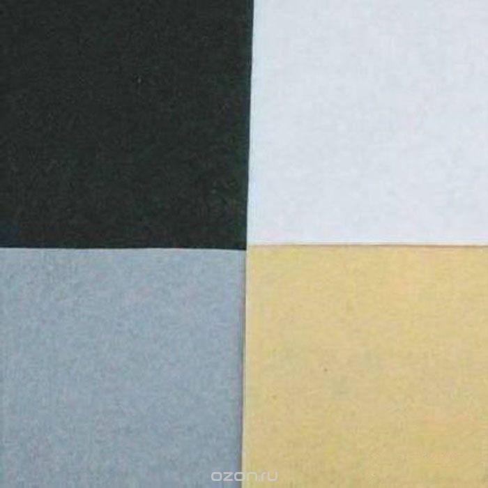 Фетр листовой Астра Ассорти, 20х30 см, 4 шт