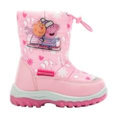 Сноубутсы Peppa Pig (цвет: розовый)