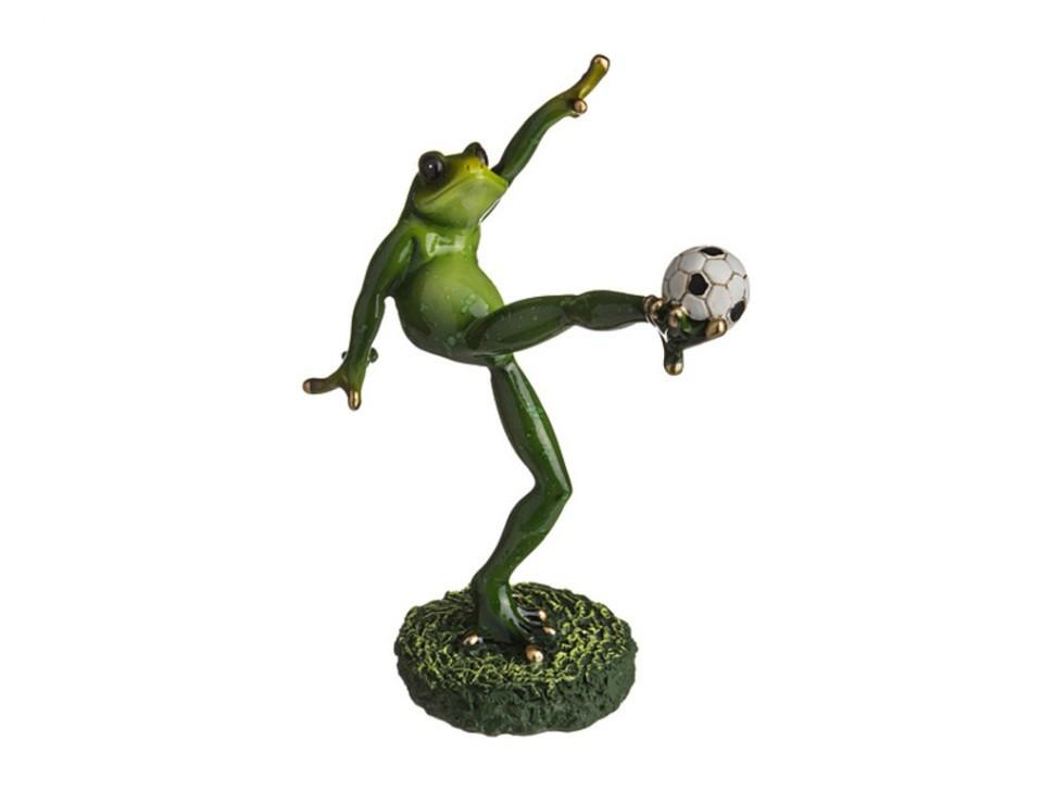 Фигурка Лягушка — футболист