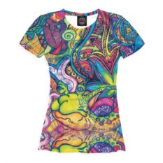 Женская футболка Psychedelic