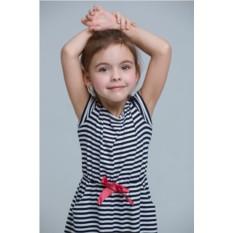 Комплект полосатых платьев Majorca для мамы и дочки