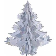Новогоднее фольгированное украшение Елка