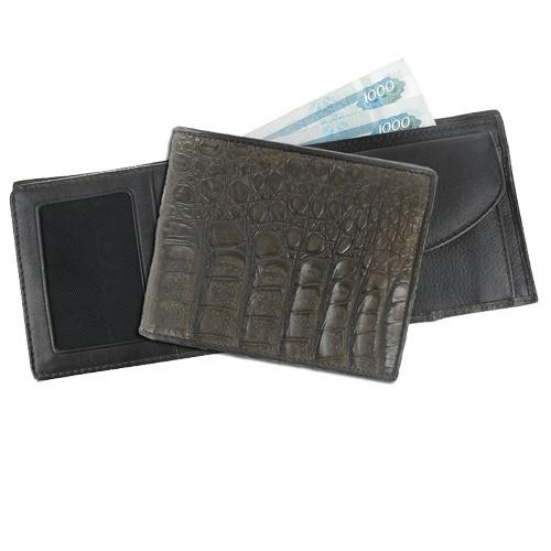 Мужской кошелек из каймана Составляющая респектабельности