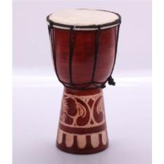 Резной барабан ручной работы (25 см)