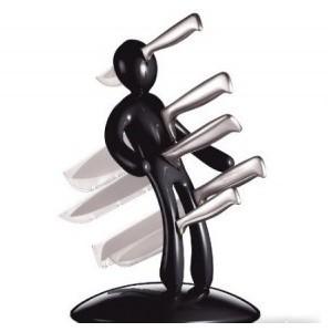 Набор ножей «Вуду» (черный)