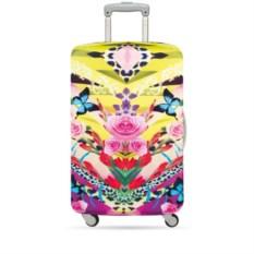 Чехол для чемодана Loqi naito flover dream M