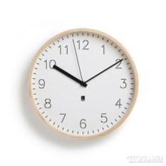 Белые настенные часы Rimwood