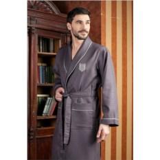 Серый мужской халат Monte Carlo
