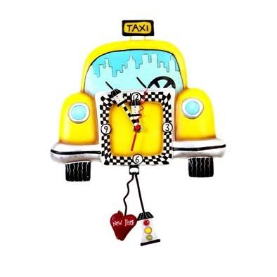 Часы настенные «Такси вызывали?»