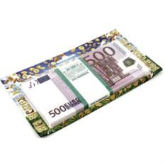 Сувенир Забавная пачка на успех и благополучие 500 евро