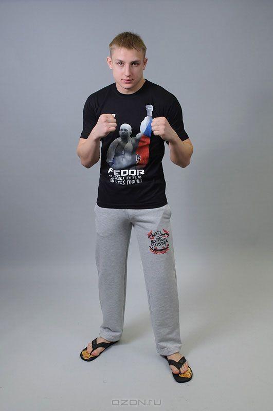 Черная футболка М-1 «Федор Емельяненко»