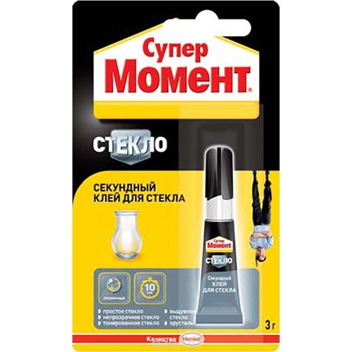 Клей для стекла Henkel Супер Момент Стекло (3 г)