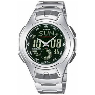 наручные часы Casio Classic & Digital Timer AQ-160WD-1B