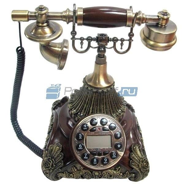 Кнопочный ретро-телефон Грейс