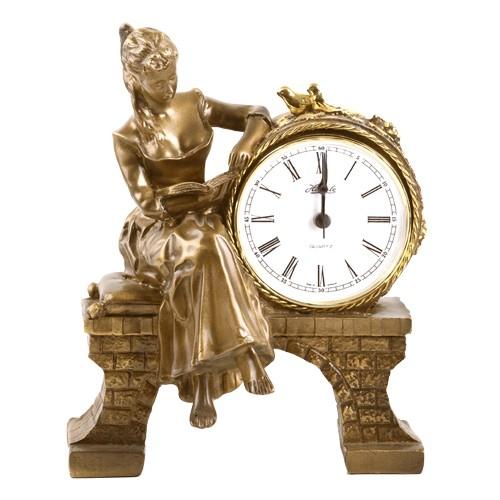 Часы Девушка с книгой