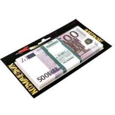 Сувенир Забавная пачка космических доходов 500 евро