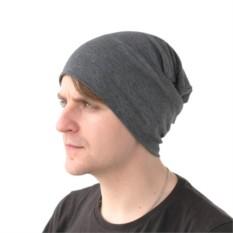 Серая шапка Brazgovka
