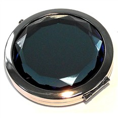 Зеркало круглое, синий сапфир