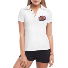 Женская футболка polo The best sister
