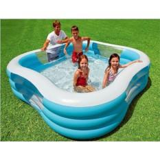 Надувной квадратный бассейн Семейная купальня