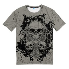 Мужская футболка Skulls