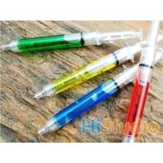 Ручка Шприц с цветной жидкостью