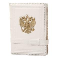 Белый ежедневник «Россия Златоглавая» (формат А5)