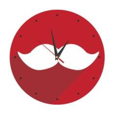 Настенные часы Усы