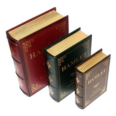 Набор шкатулок в виде книг «Гамлет»