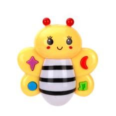 Пластмассовая озвученная игрушка Музыкальная пчелка