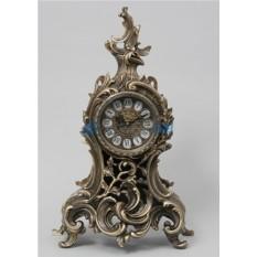 Часы из бронзы Silva, цвет каштановый
