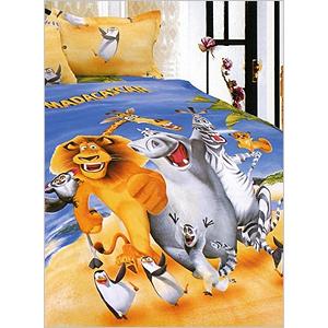 Комплект постельного белья «Мадагаскар»