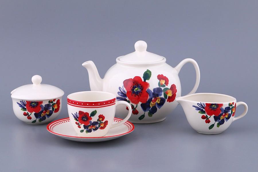 Чайный сервиз на 6 персон Амели