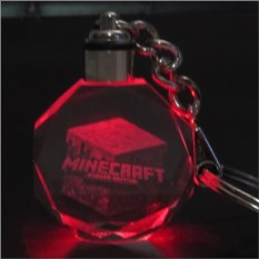 Брелок Майнкрафт Светящийся кристалл