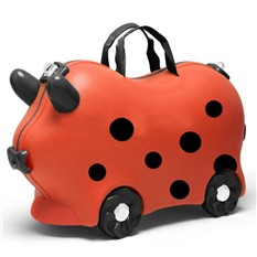 Детский чемодан Kidsmile Божья Коровка