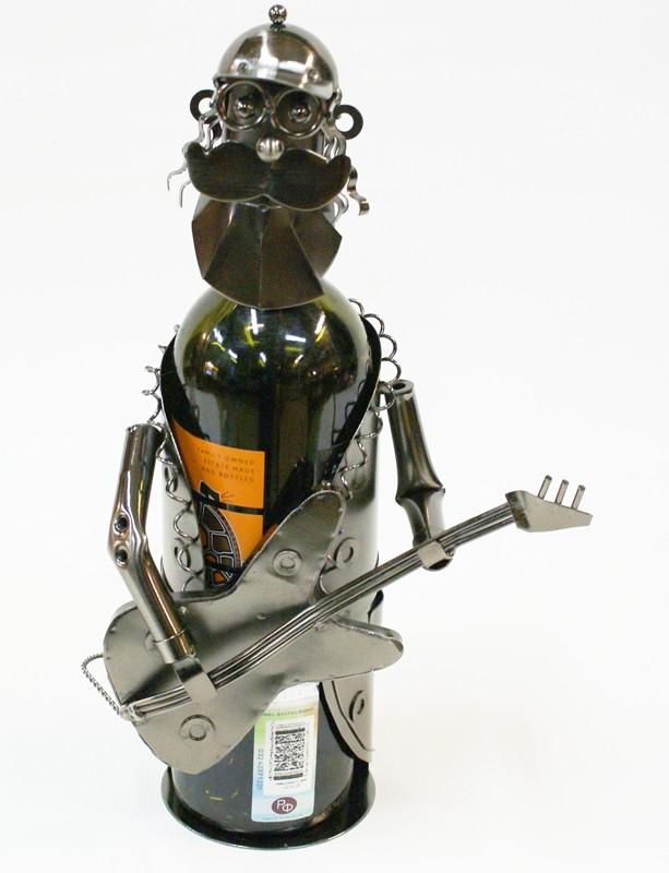 Подставка для бутылок Гитарист