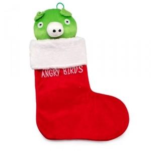 Новогодний носок Pig, cерия Angry Birds