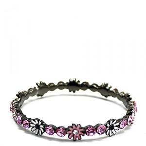 Браслет Pretty little flowers, розовый