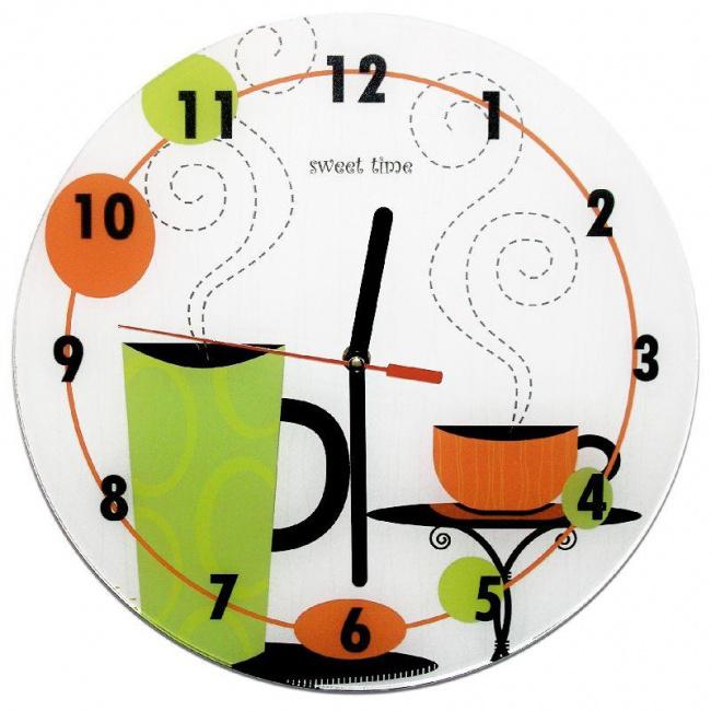 Часы «Чашка кофе»