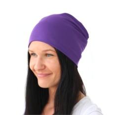 Фиолетовая шапка Brazgovka
