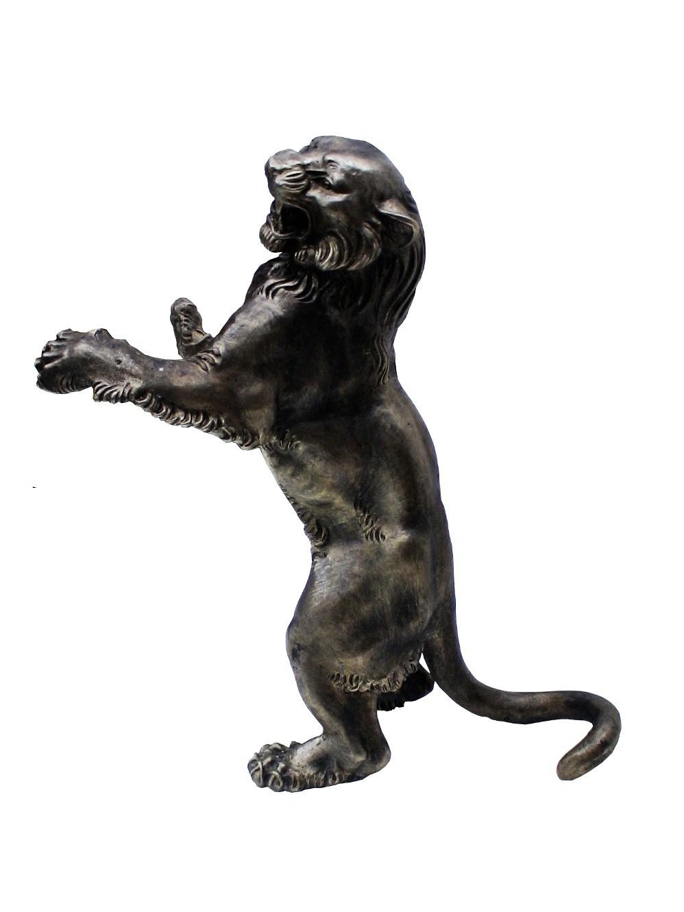 Скульптура Тигр из бронзы