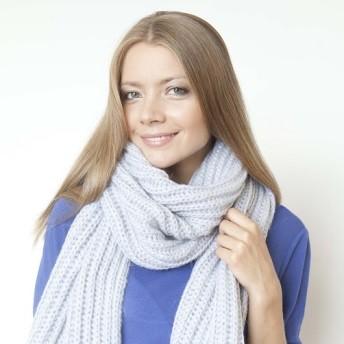 Жемчужный шарф