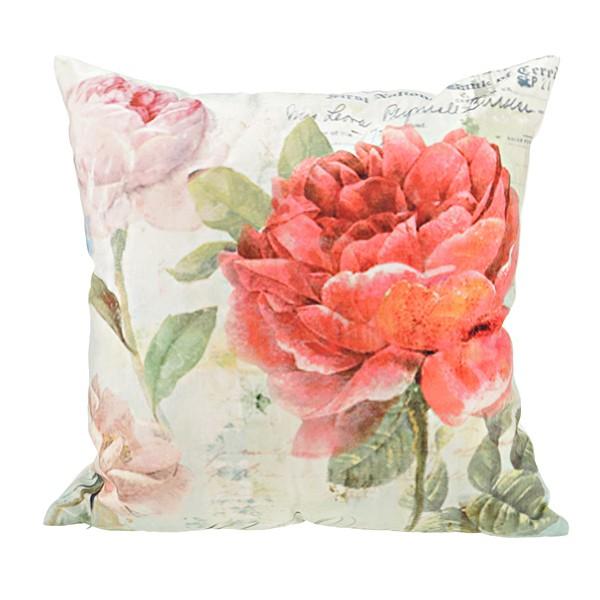 Подушка декоративная «Пионы»