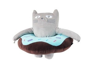 Подушка под спину Кот
